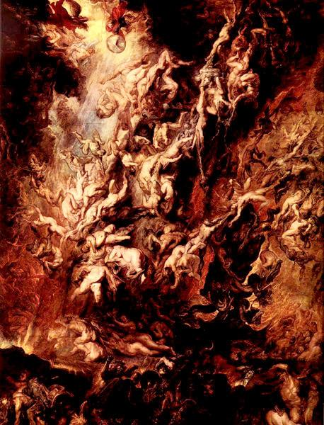 Fall of the Rebel Angels Peter Paul Rubens