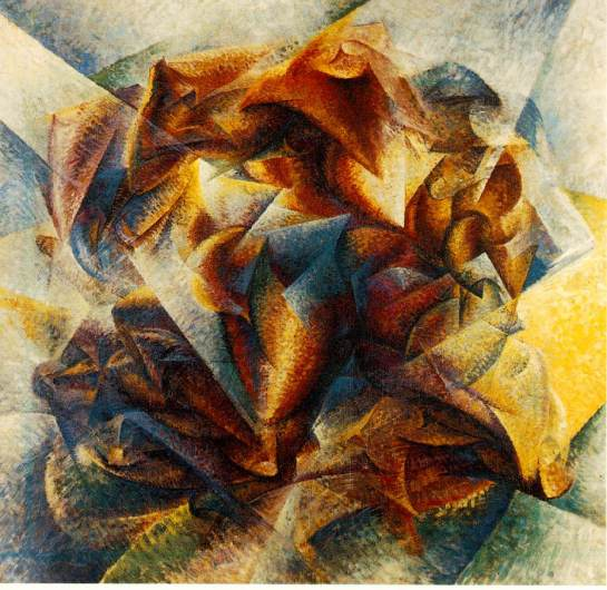 "Umberto Boccioni - ""Dynamism of a Soccer Player"""