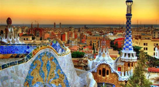 Barcelona Skyscape