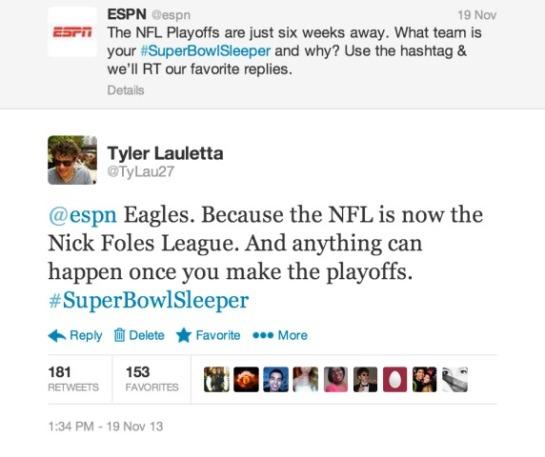 ESPN Retweet