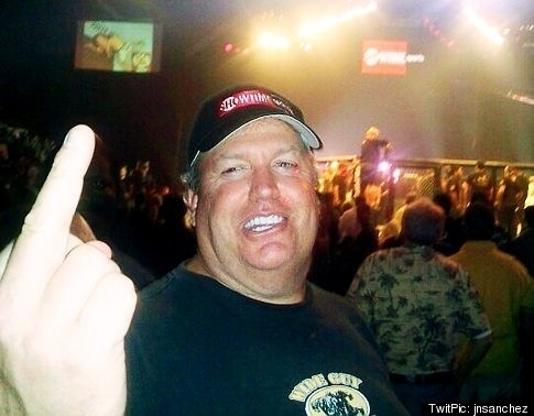 Rex Ryan flips the bird