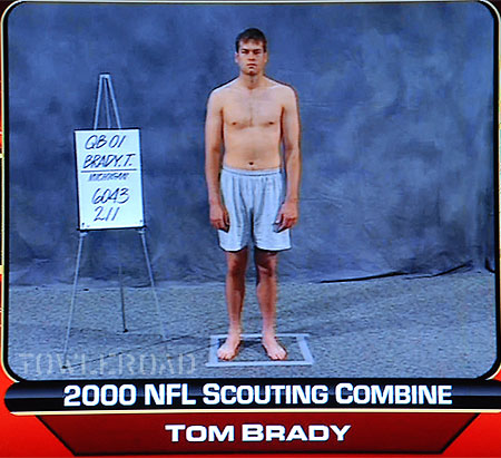 Young and Beautiful Tom Brady