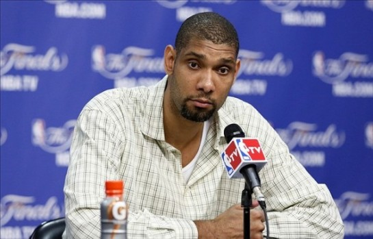 Tim Duncan loves Bob Segar, nondescript plaid and Diet Pepsi.