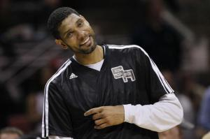 "Tim Duncan is all about ""this guy, amirite?"""