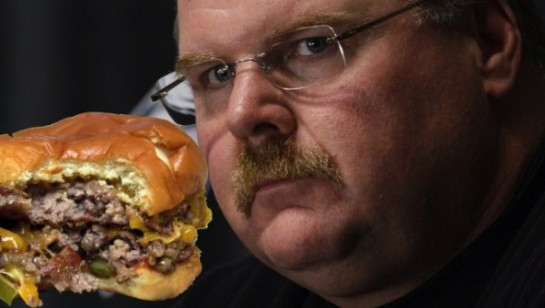 Andy Reid burger